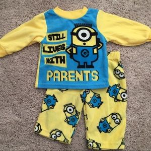 Other - Despicable Me fleece jammies